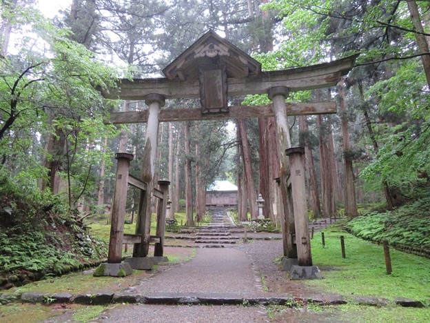 Photos: 平泉寺白山社舊址(勝山市)二の鳥居