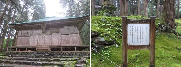 Photos: 平泉寺白山社舊址(勝山市)拝殿