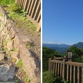 Photos: 大野城本丸(大野市)虎口・小天守