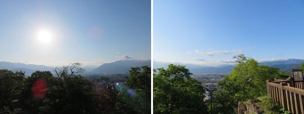 Photos: 大野城本丸(大野市)景観