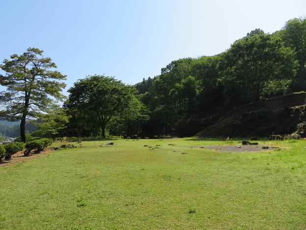 一乗谷(福井市)朝倉館 中御殿跡