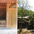 一乗谷 朝倉神社(福井市)地蔵・忠魂碑