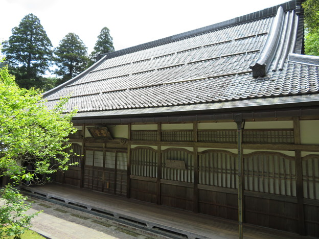 永平寺(福井県吉田郡永平寺町)僧堂