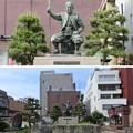 Photos: 北ノ庄城跡/柴田神社(福井市)柴田勝家公像