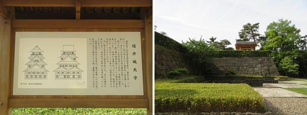 福井城(福井市)天守台跡