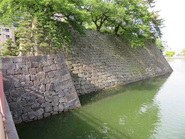 福井城(福井市)本丸石垣