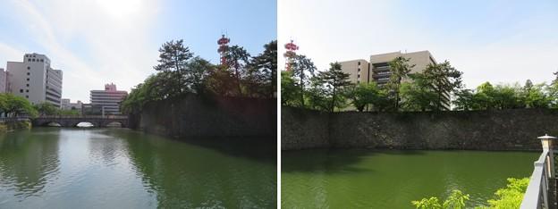 福井城(福井市)内堀