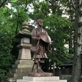 氣比神宮(敦賀市)芭蕉像