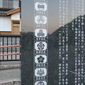 金ヶ崎城登城口P(敦賀市)金ヶ崎城跡・天筒山城跡碑
