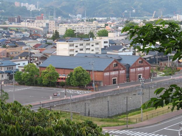 金ヶ崎城 花換の小道より(敦賀市)赤レンガ倉庫