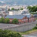 Photos: 金ヶ崎城 花換の小道より(敦賀市)赤レンガ倉庫