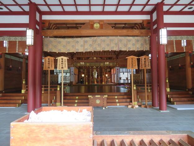 氣比神宮(敦賀市)内拝殿