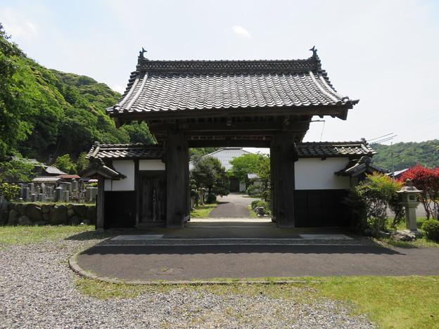 空印寺/若狭武田氏居館跡(小浜市)薬医門