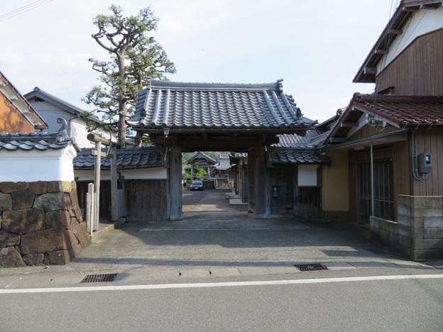 長福寺(高浜町)山門