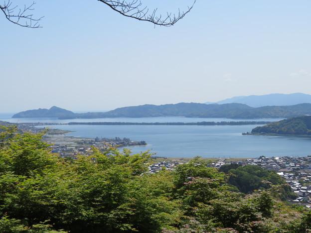 天橋立(宮津市。与謝野町・一字観公園)