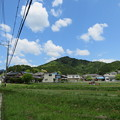 Photos: 黒井城(兵庫県丹波市)南より
