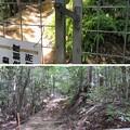 黒井城(兵庫県丹波市)急坂コース