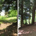 黒井城(兵庫県丹波市)石踏の段・段郭