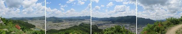 黒井城(兵庫県丹波市)東郭より