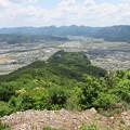 Photos: 黒井城(兵庫県丹波市)先端、的場砦