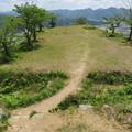 Photos: 黒井城(兵庫県丹波市)本郭より