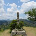 黒井城(兵庫県丹波市)城趾碑