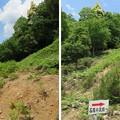 黒井城(兵庫県丹波市)なだらかコース