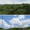 Photos: 黒井城(兵庫県丹波市)南麓より