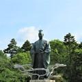 Photos: 亀山城/南郷公園(亀岡市)明智光秀公像