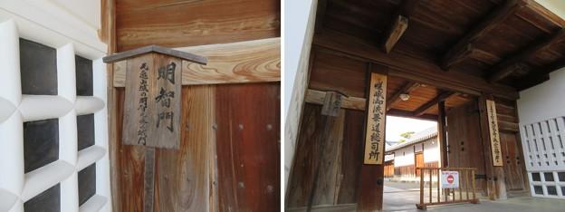亀山城 移築城門/大覚寺明智門(右京区)