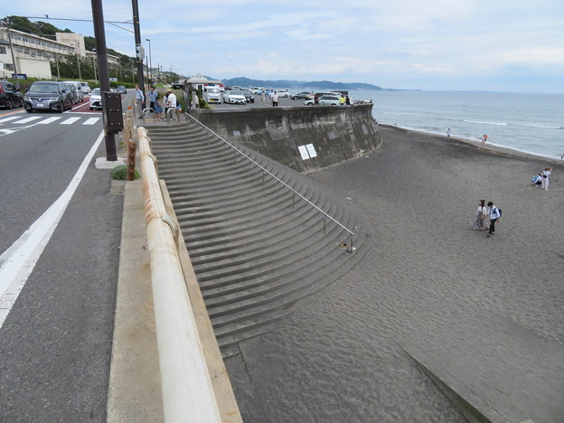 七里ガ浜階段(鎌倉市七里ガ浜)