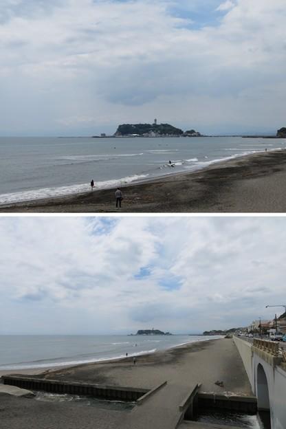 七里ヶ浜海岸(鎌倉市七里ガ浜)