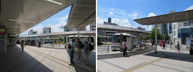 逗子駅東口ロータリー(逗子市)