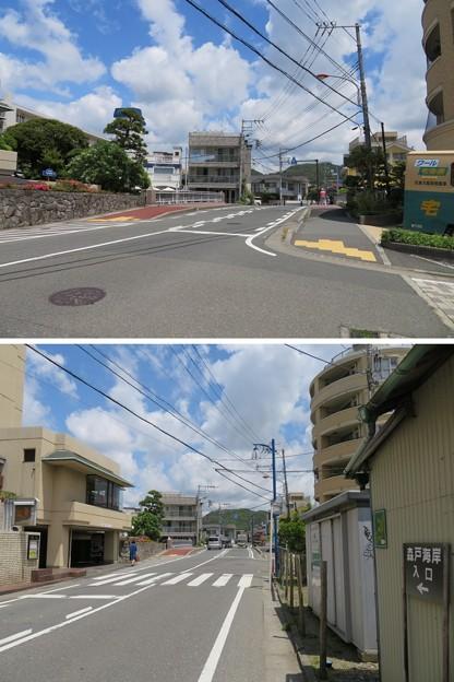 県道207号線 森戸海岸線 森戸橋(葉山町)
