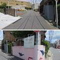 Photos: 県道207号線 森戸海岸線 la-plage案内板(葉山町堀内)