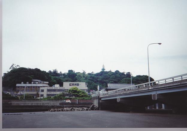 94.05.25.陸繋砂州(藤沢市江の島)