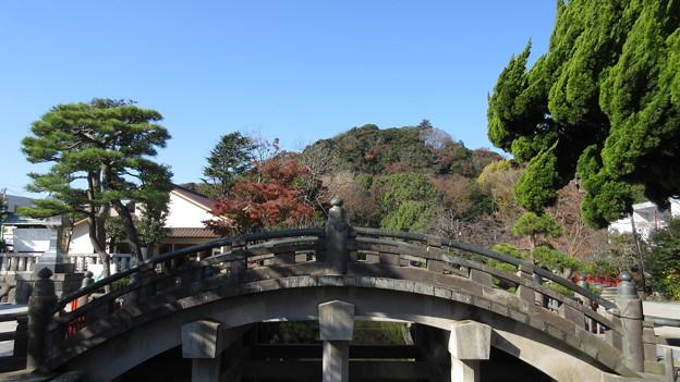 14.12.08.鶴岡八幡宮(鎌倉市)太鼓橋