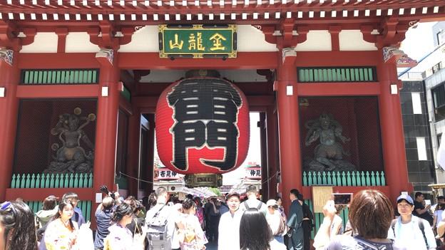 浅草寺風雷神門(台東区)