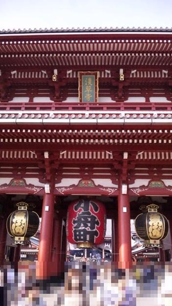 10.09.21.浅草寺(台東区)宝蔵門