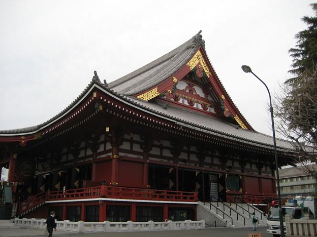 11.03.14.浅草寺(台東区)観音堂