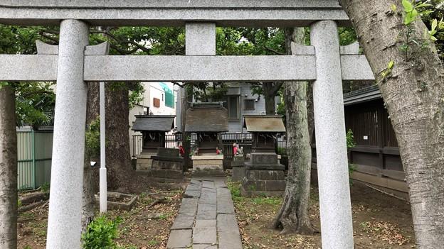 荏原神社(品川区北品川)末社