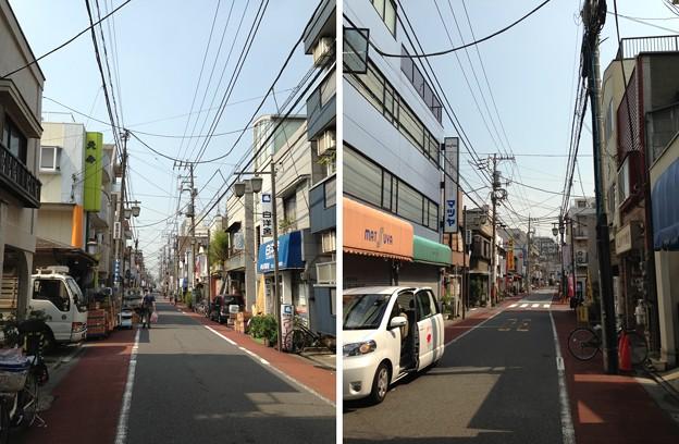 旧東海道 佐林町(東大井1丁目)