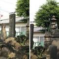 Photos: 13.07.10.鮫洲八幡神社(品川区東大井)富士塚・浅間大神