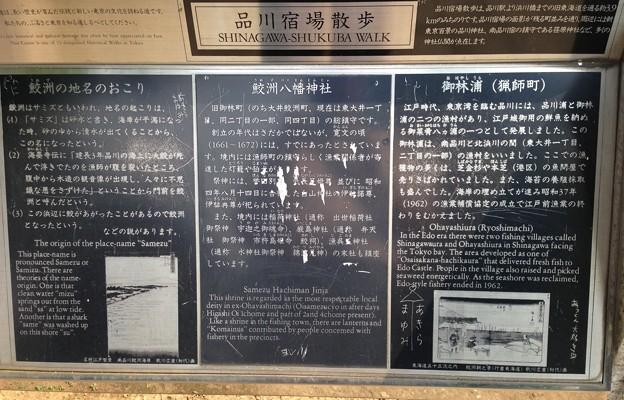 13.07.10.鮫洲八幡神社(品川区東大井)