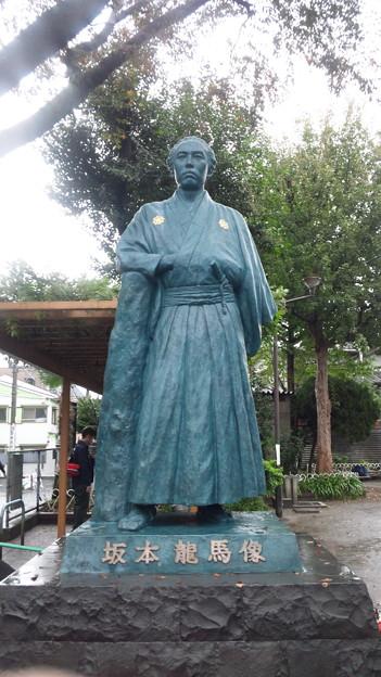 Photos: 11.11.19.坂本龍馬像(北浜川児童遊園。品川区東大井)