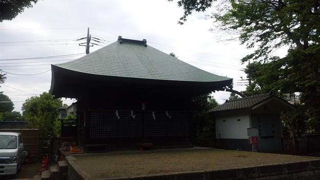 Photos: 江古田氷川神社(中野区江古田)神楽殿