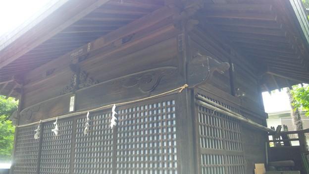 Photos: 12.05.16.江古田氷川神社(中野区江古田)神楽殿