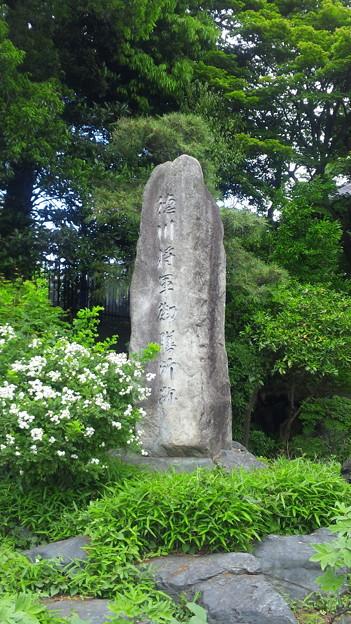 東福寺(中野区江古田)徳川将軍御膳所跡碑