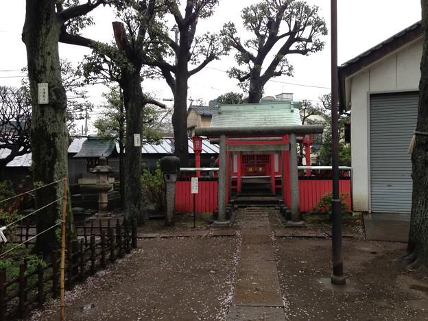 北野神社(新井天神。中野区新井)伏見稲荷大明神