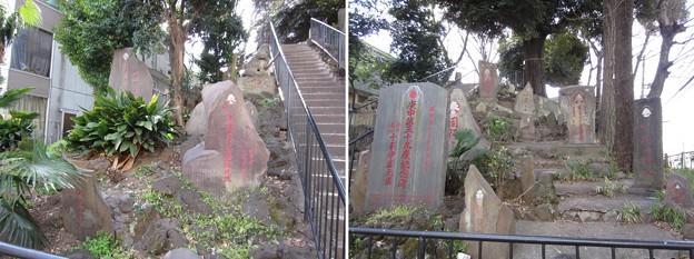 十条冨士神社 ・十条富士塚(北区中十条)